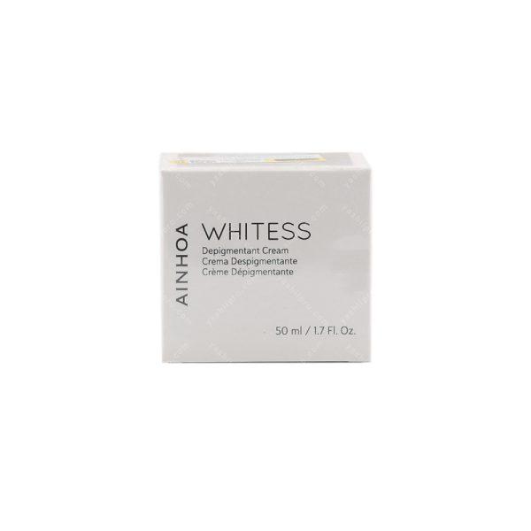 کرم روشن کننده پوست و ضد لک آینوا مدل WHITESS حجم 50میلی لیتر
