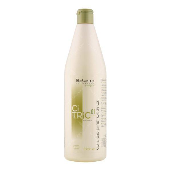 شامپو تثبیت کننده رنگ مو (بازسازی و ترمیم کننده مو) سالرم حجم 1000 میلی لیتر