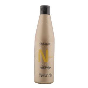 شامپو مغذی مو-ضد ریزش مو سالرم مدل nutrientحجم 500 میلی لیتر