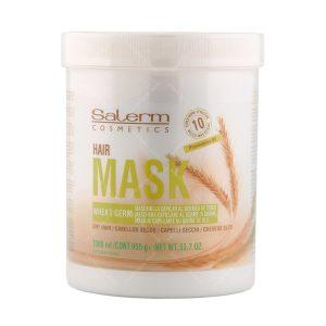ماسک حاوی جوانه گندم مخصوص موهای خشک و آسیب دیده سالرم حجم 1000میلی لیتر