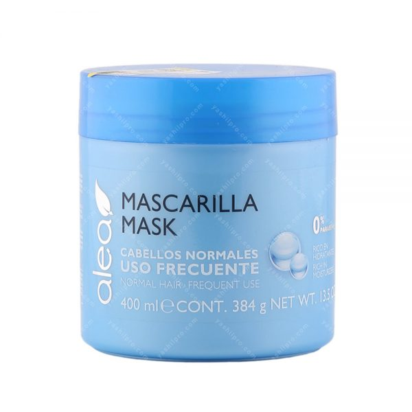 ماسک مو روزانه مخصوص موهای معمولی آله آ حجم 400میلی لیتر