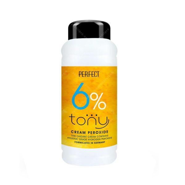 کرم اکسیدان ۲۰ حجمی (۶%) تونی حجم 150میلی لیتر