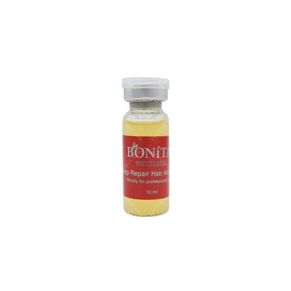 محلول ترمیم کننده و ضخیم کننده ساقه مو بونیتا حجم 10میلی لیتر