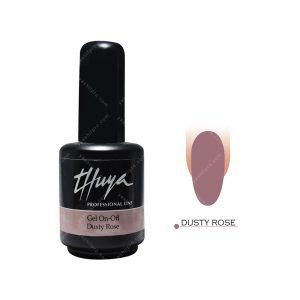 لاک ژل تویا مدل Dusty Rose
