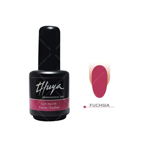 لاک ژل تویا مدل Fuchsia