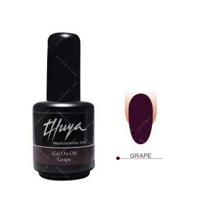 لاک ژل تویا مدل Grape