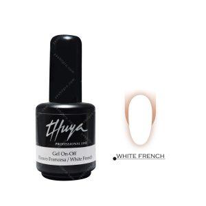 لاک ژل تویا مدل White French