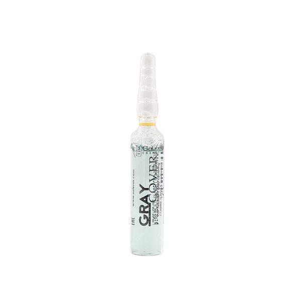 محلول پوشش دهنده ی سفیدی و تقویت کننده مو سالرم حجم 5میلی لیتر