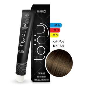 رنگ مو تونی مدل بلوند تیره شماره 6,0