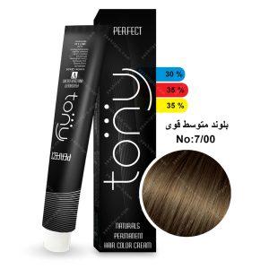 رنگ مو تونی مدل بلوند متوسط قوی شماره 7,00