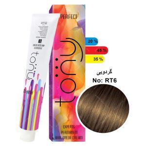 رنگ مو اکسپرتس تونی مدل گردویی شماره RT6