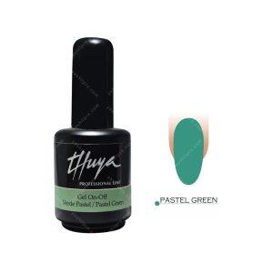 لاک ژل تویا مدل Pastel Green