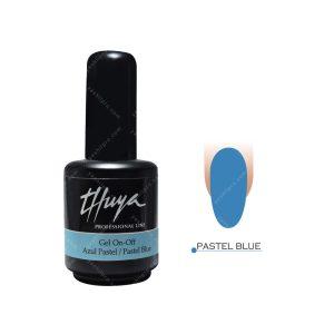 لاک ژل تویا مدل Pastel blue