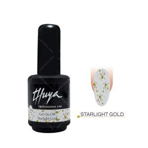 لاک ژل تویا مدل Starlight Gold