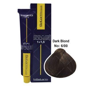 رنگ مو سالرم مدل بلوند تیره قوی شماره 6,00