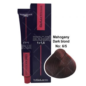رنگ مو سالرم مدل بلوند ماهاگونی تیره شماره 6,5