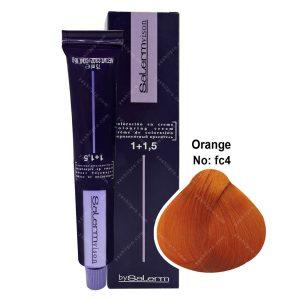 رنگ مو سالرم سری فانتزی مدل نارنجی شماره FC4