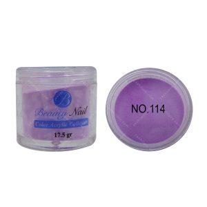 پودر رنگی بیوتی آمور کد 114