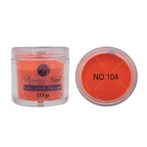 پودر رنگی بیوتی آمور کد 104