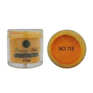 پودر رنگی بیوتی آمور کد 118