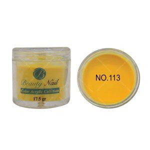 پودر رنگی بیوتی آمور کد 113