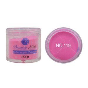 پودر رنگی بیوتی آمور کد 119