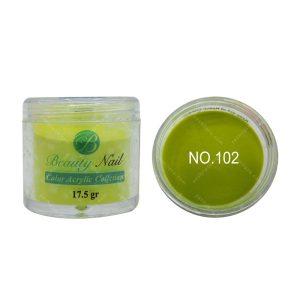 پودر رنگی بیوتی آمور کد 102