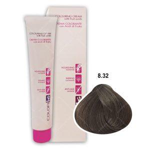 رنگ مو ING مدل بلوند روشن بژ شماره 8,32