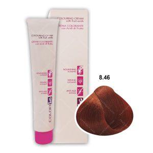 رنگ مو ING مدل بلوند روشن مسی قرمز شماره 8,46