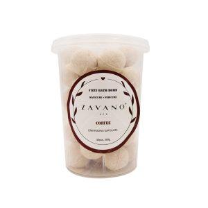 قرص پدیکور زاوانو با رایحه قهوه حجم 300گرم