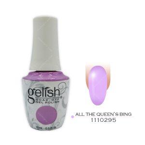 لاک ژل ژلیش مدل All The Queen's Bing