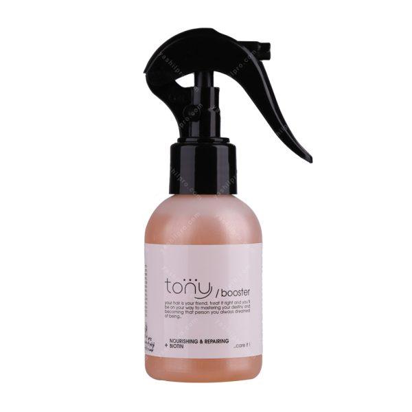 محلول مغذی و ترمیم کننده مو تونی حجم 100 میلی لیتر