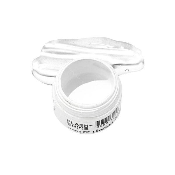 پینت ژل کلاریسا (Clarissa flash+shine gel) کد 6407 سفید