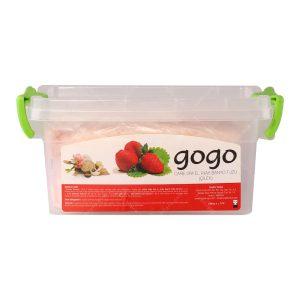 نمک اسپا گوگو مدل توت فرنگی حجم 1500 گرم
